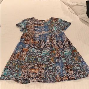 Eight Sixty patterned dress